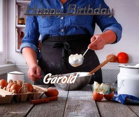 Happy Birthday to You Garold