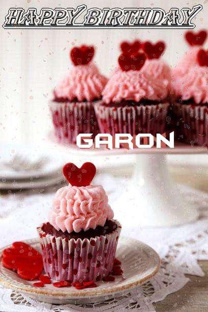 Happy Birthday Wishes for Garon