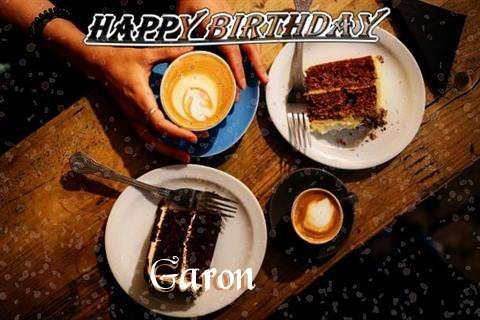 Happy Birthday to You Garon