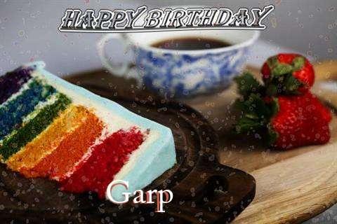 Happy Birthday Wishes for Garp