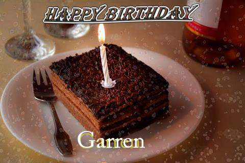 Happy Birthday Garren