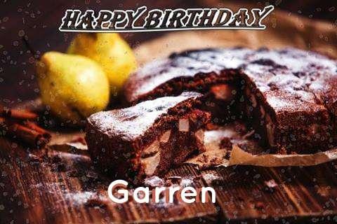 Happy Birthday to You Garren