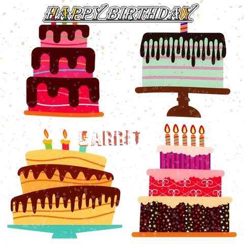 Happy Birthday Garret Cake Image