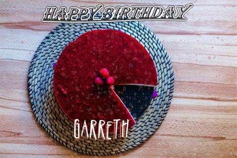 Happy Birthday Wishes for Garreth