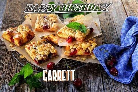 Happy Birthday Cake for Garrett