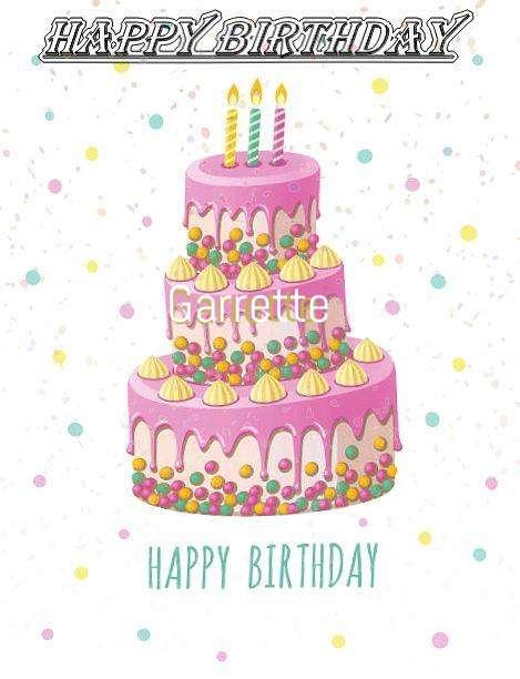 Happy Birthday Wishes for Garrette