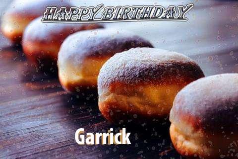 Birthday Images for Garrick