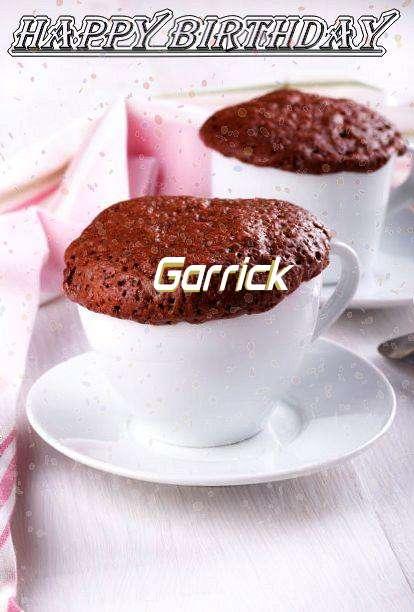 Happy Birthday Wishes for Garrick