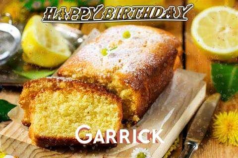 Happy Birthday Cake for Garrick