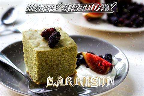 Happy Birthday Garrison Cake Image