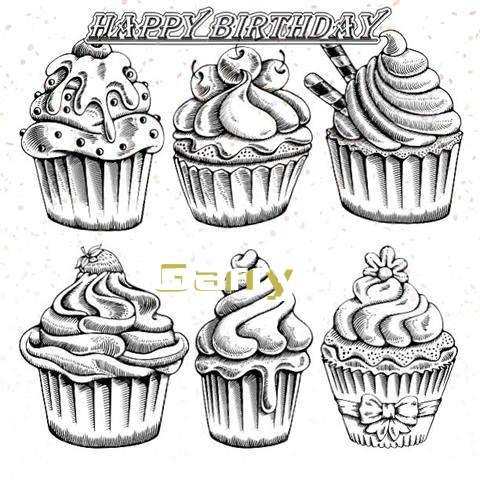 Happy Birthday Cake for Garry