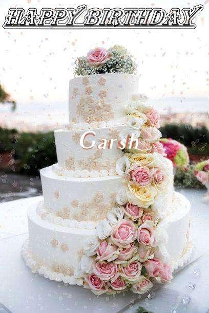 Garsh Birthday Celebration