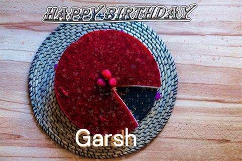 Happy Birthday Wishes for Garsh