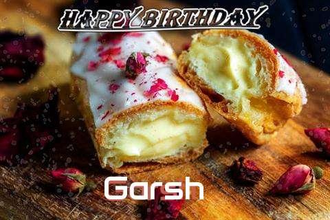 Garsh Cakes