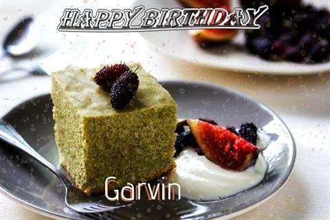 Happy Birthday Garvin Cake Image