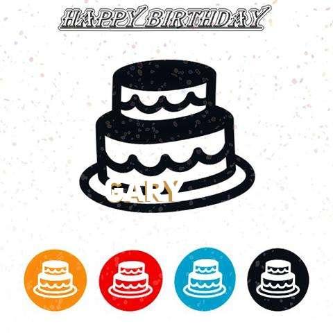 Happy Birthday Gary Cake Image