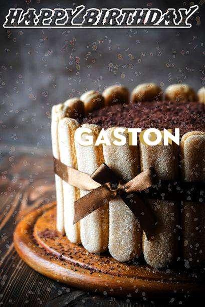 Gaston Birthday Celebration