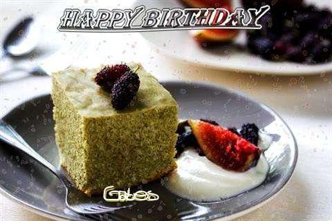 Happy Birthday Gates Cake Image