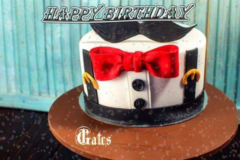 Happy Birthday Cake for Gates