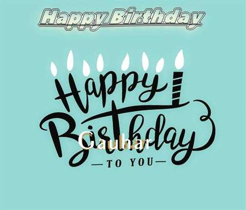 Happy Birthday Gauhar