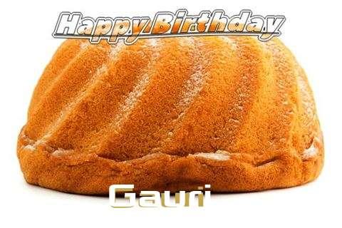 Happy Birthday Gauri Cake Image