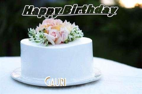 Gauri Birthday Celebration