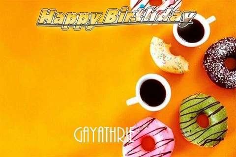 Happy Birthday Gayathrie