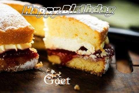 Happy Birthday Cake for Geet