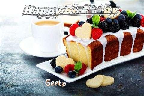 Happy Birthday to You Geeta