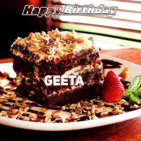 Happy Birthday Cake for Geeta