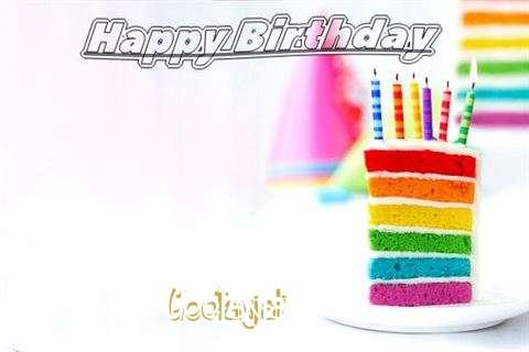 Happy Birthday Geetanjali Cake Image