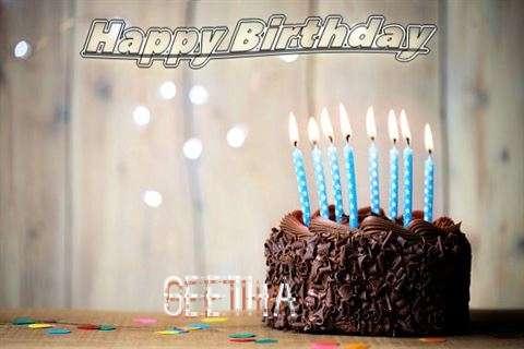 Happy Birthday Geetha