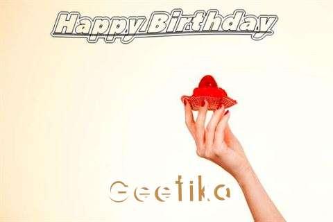 Happy Birthday to You Geetika