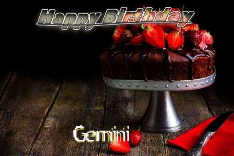 Gemini Birthday Celebration