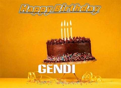 Happy Birthday Gendi