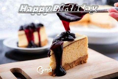 Birthday Images for Gendi