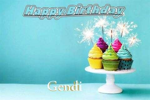 Happy Birthday Wishes for Gendi