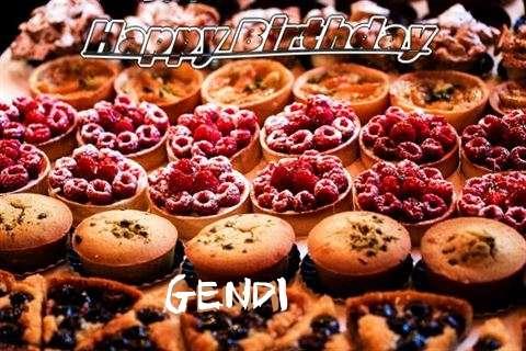 Happy Birthday to You Gendi
