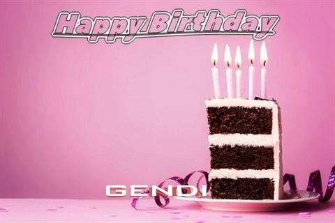 Gendi Cakes