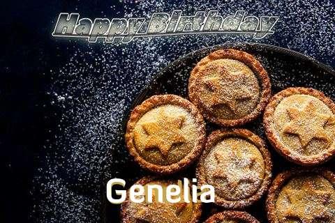 Happy Birthday Wishes for Genelia