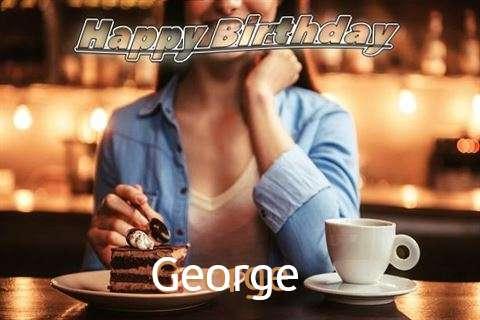 Happy Birthday Cake for George