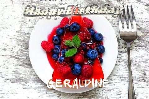 Happy Birthday Cake for Geraldine