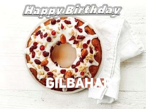 Happy Birthday Cake for Gilbahar