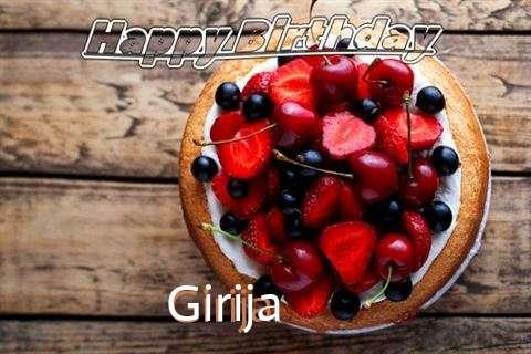 Happy Birthday Cake for Girija