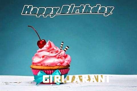 Birthday Wishes with Images of Girijarani