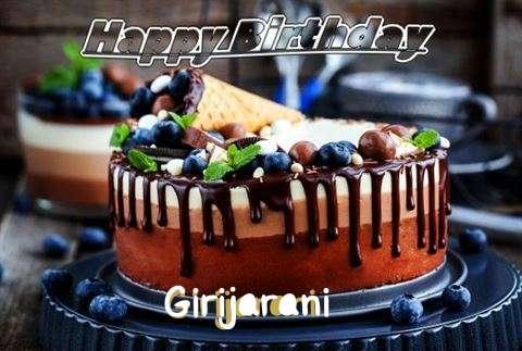 Happy Birthday Cake for Girijarani