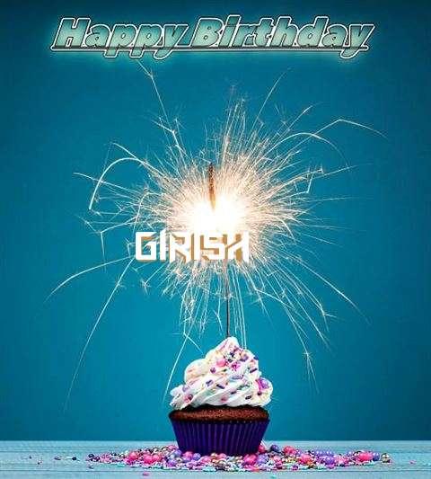 Happy Birthday Wishes for Girish