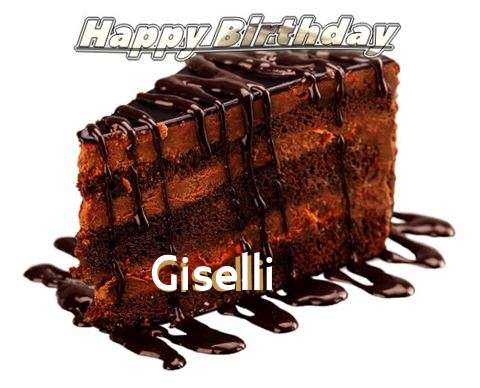 Happy Birthday to You Giselli
