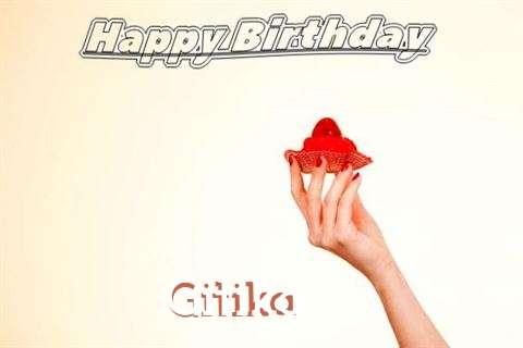 Happy Birthday to You Gitika