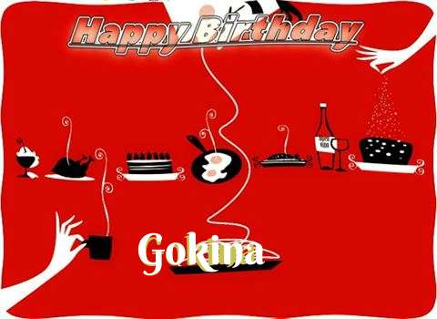 Happy Birthday Wishes for Gokina